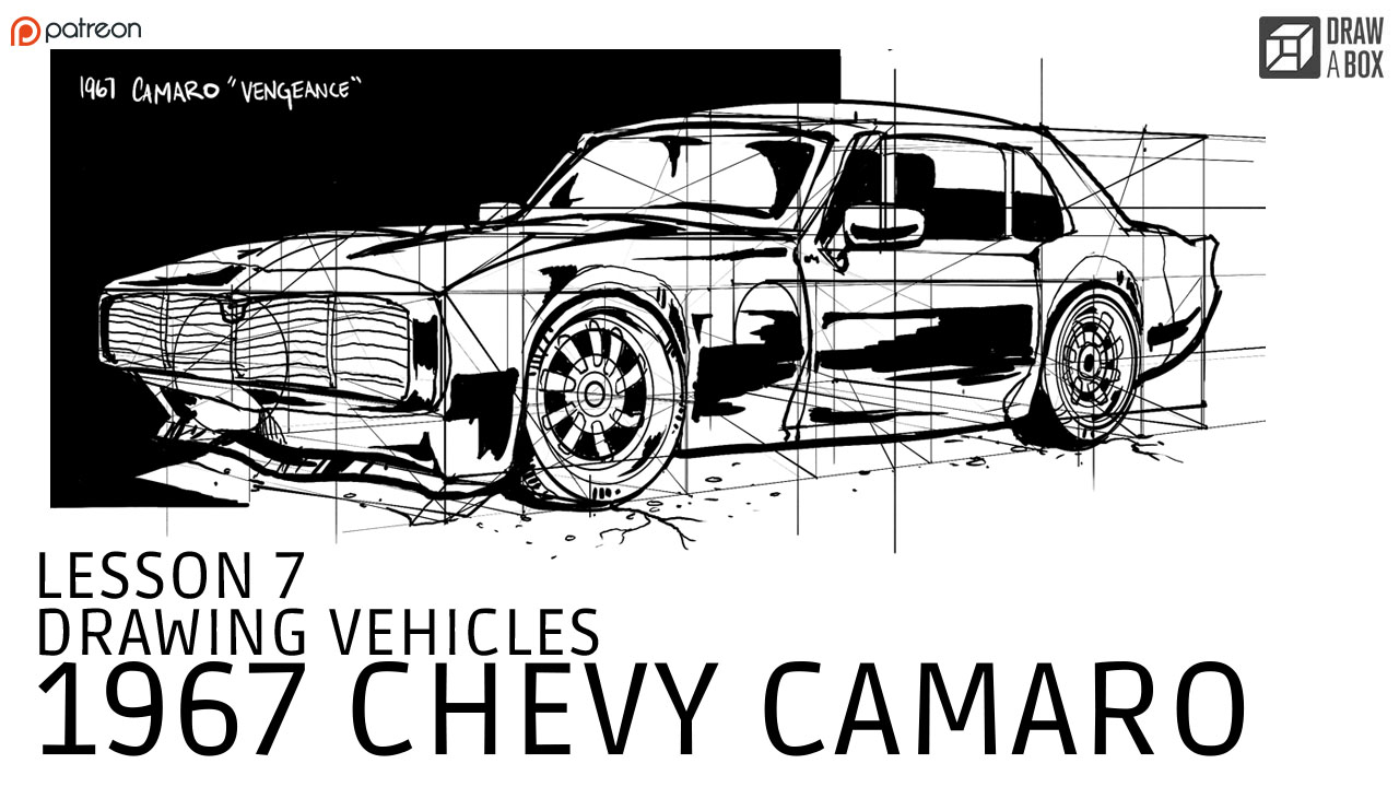 Drawn vehicle camaro Patreon current For among video