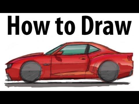 Drawn vehicle camaro ss  Camaro a quick! it