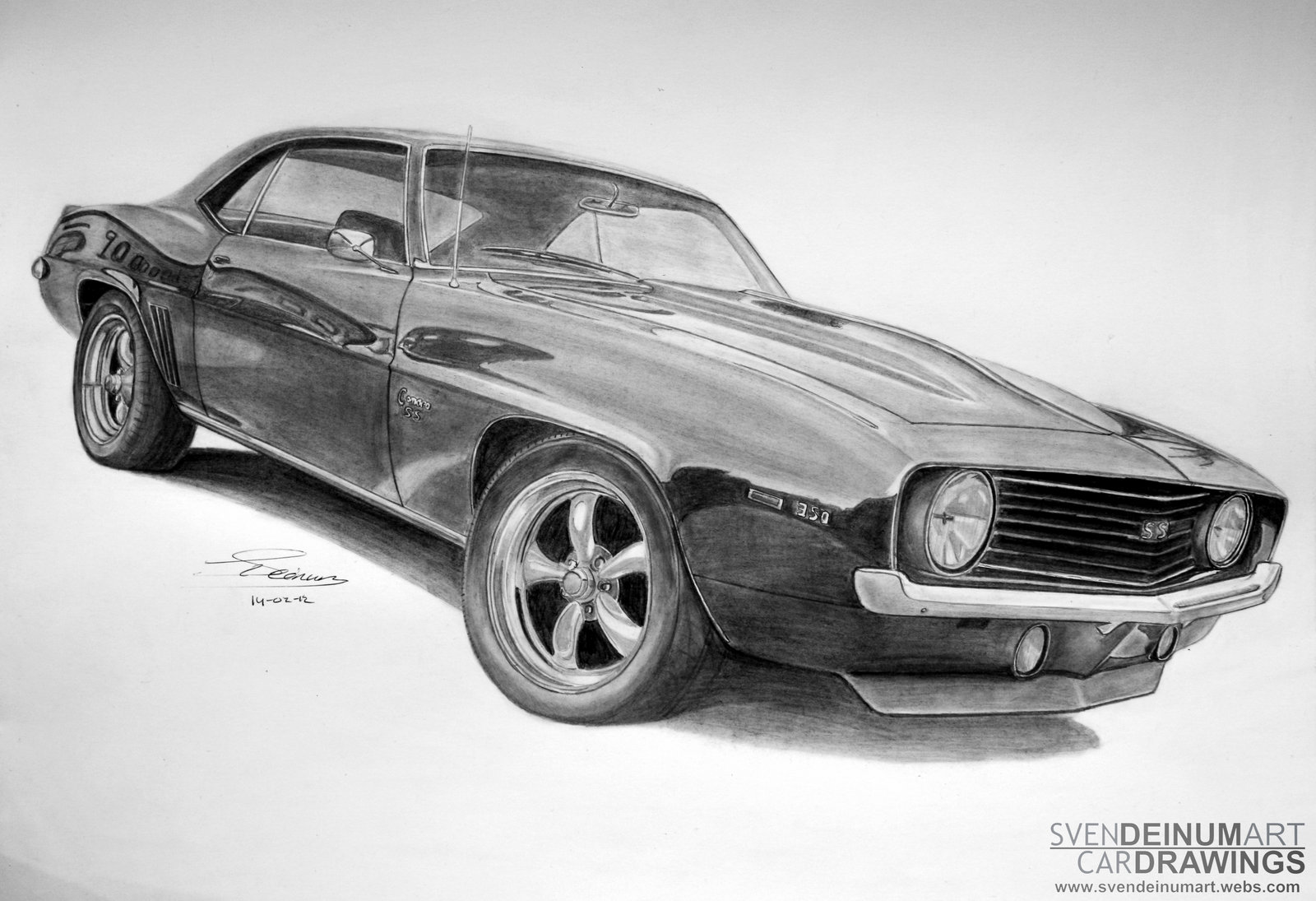 Drawn vehicle camaro ss On  by art art