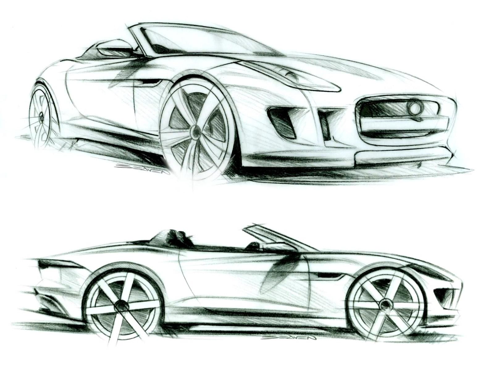 Drawn vehicle car design  F sketch sketches Design