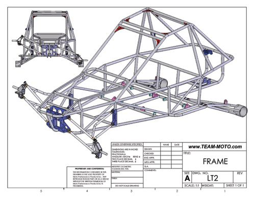 Drawn vehicle car frame Buggy Proyectos Plans For Plans