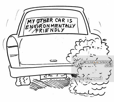 Drawn vehicle car pollution Air Cartoons of from Pollution