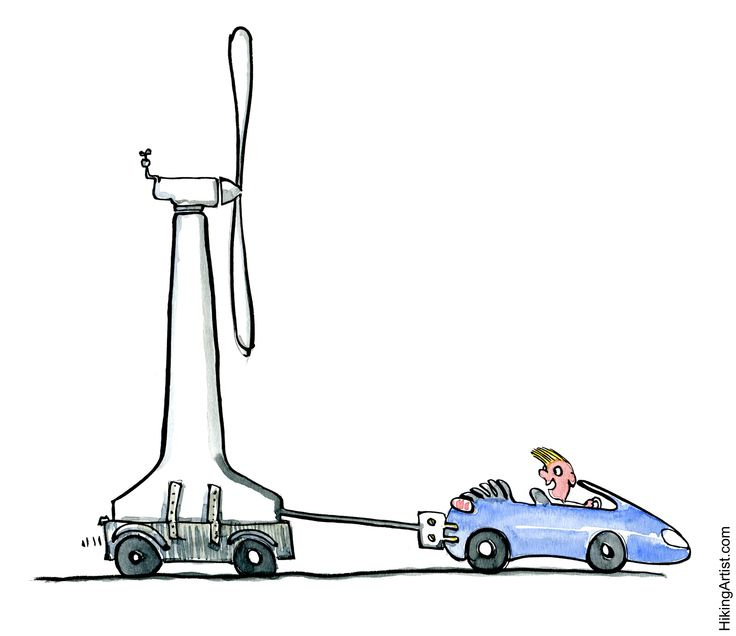 Drawn vehicle car pollution Power really Electric really help
