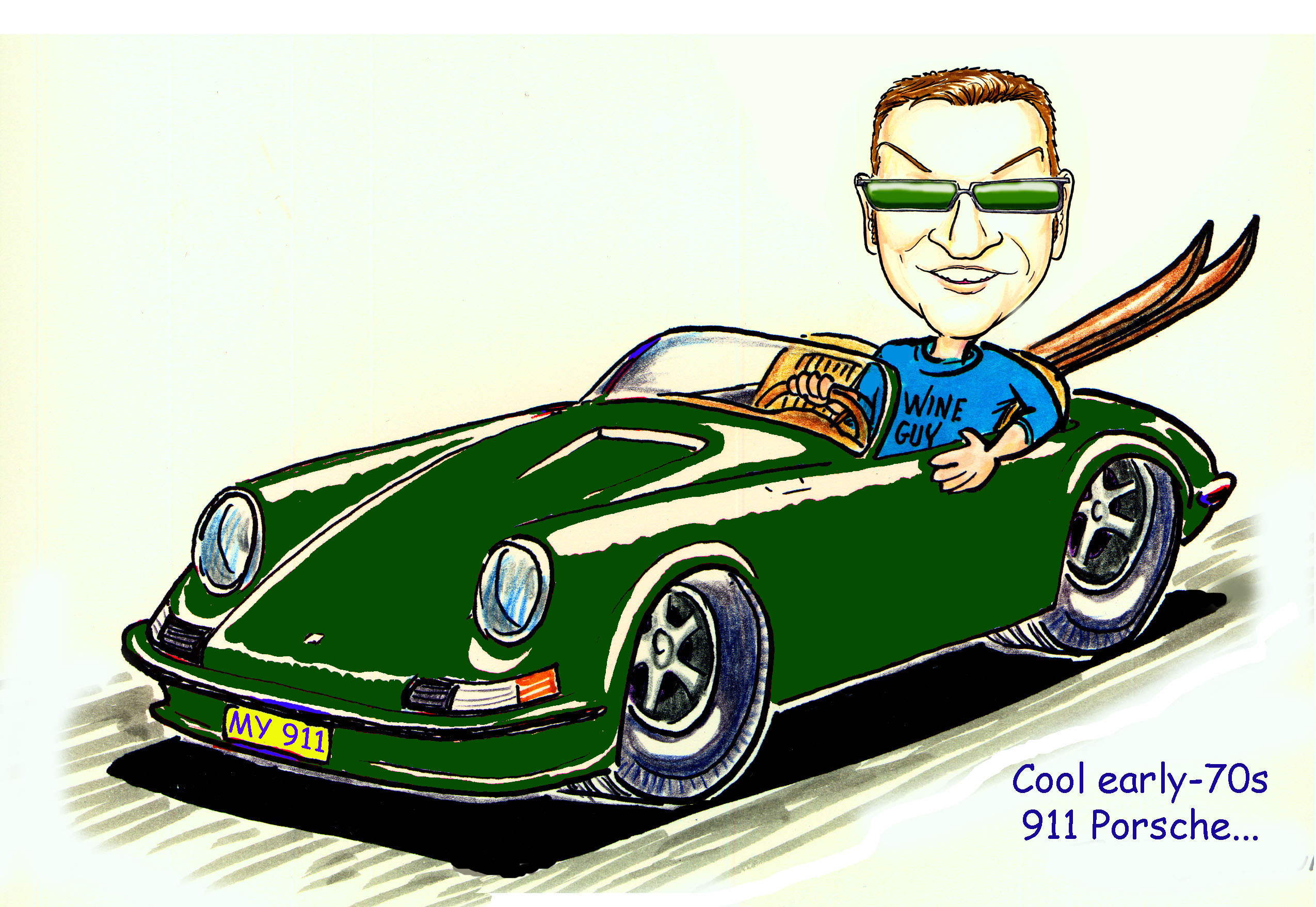 Drawn vehicle caricature Cartoons Car caricatures motorcycles of
