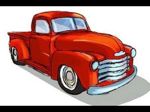 Drawn vehicle chevrolet Chevy How to draw Chevy