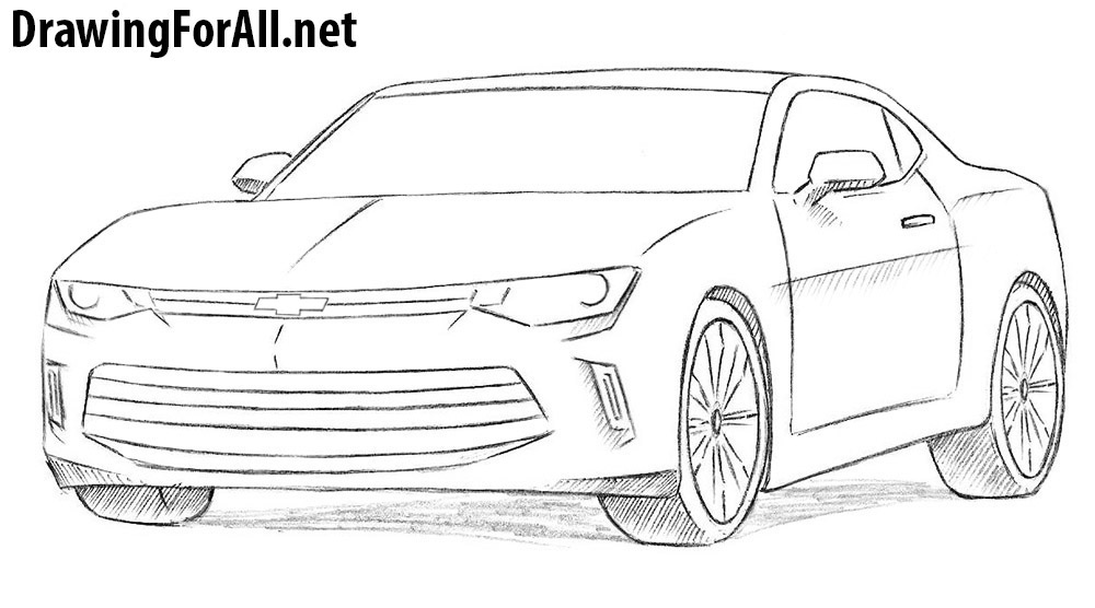 Drawn vehicle chevrolet Chevrolet How to Draw Chevrolet