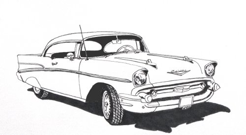 Drawn vehicle chevrolet Drawing Archives Chevy To Cars