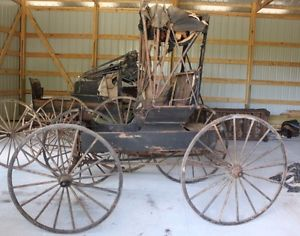 Drawn vehicle classic car Drawn Buggy Carriage Drawn Primitive