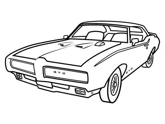 Classic clipart classic muscle car Free Free Pinterest and on