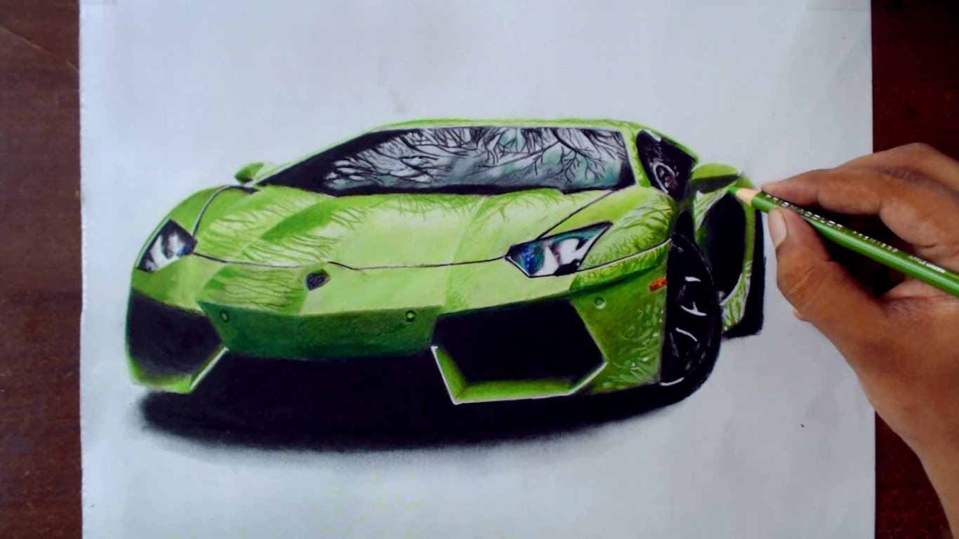 Drawn vehicle color YouTube Drawing  Cars 1
