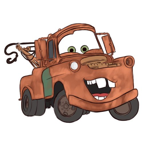 Drawn vehicle color Draw Mater Draw from on