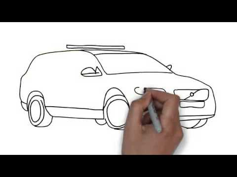 Drawn vehicle cop car Car How Police To YouTube