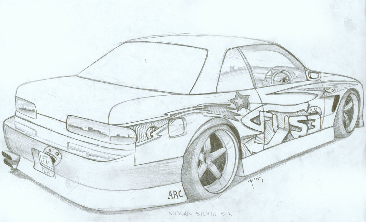 Drawn vehicle drift Google  to draw to