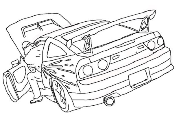 Drawn vehicle drift Com Drawings Attached DRIFTING Images