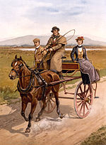 Drawn vehicle face Jaunting or vehicle Wikipedia car