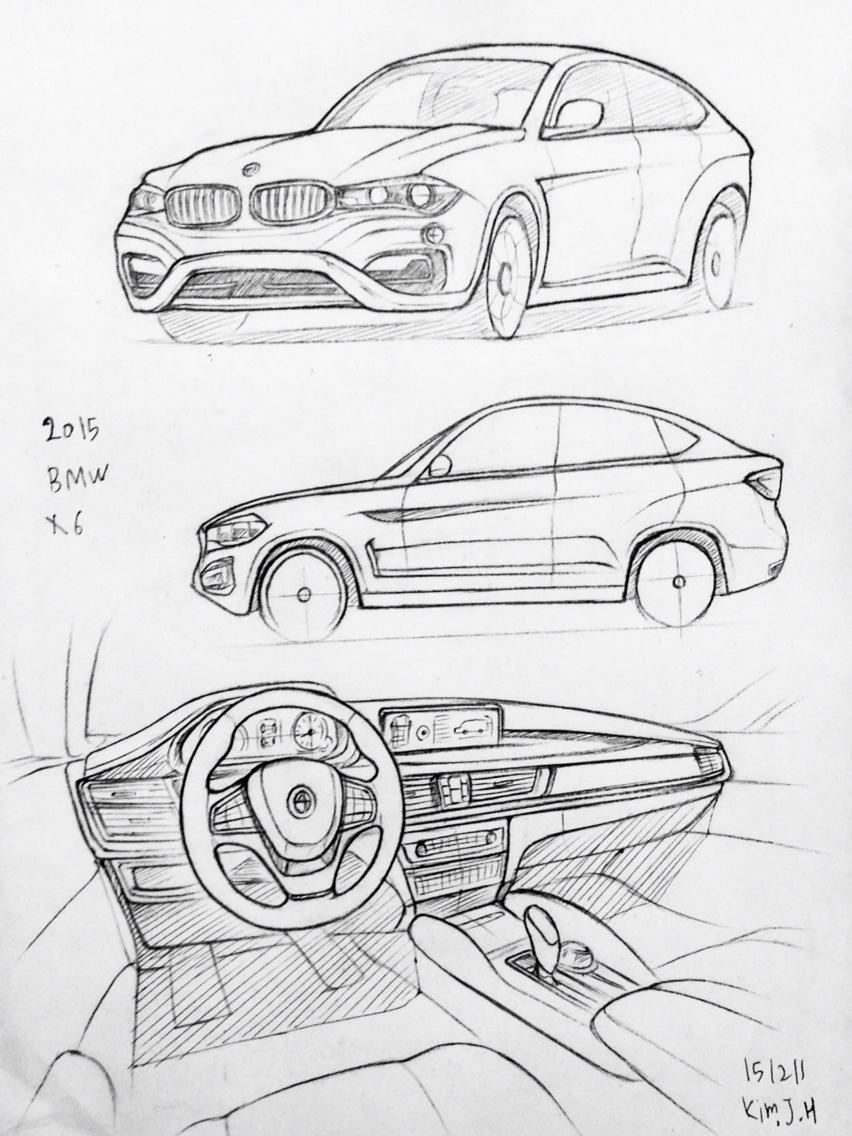 Drawn bmw car design Car 2015 M6 The Prisma