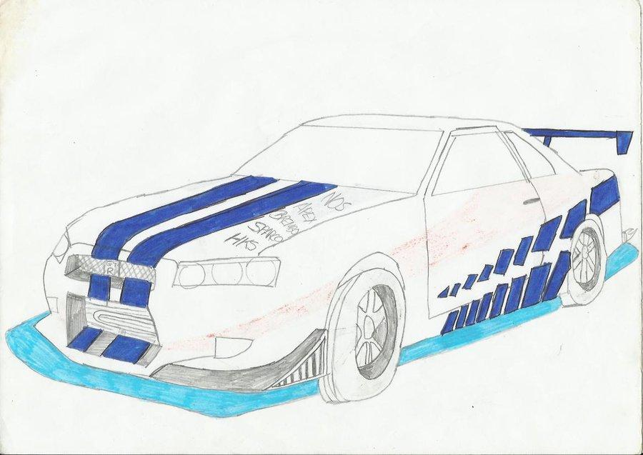 Drawn vehicle fast and furious Fast DeviantArt Skyline 2 mychemicalromancerev