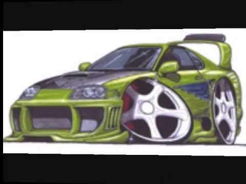 Drawn vehicle fast and furious Car fast car and fast