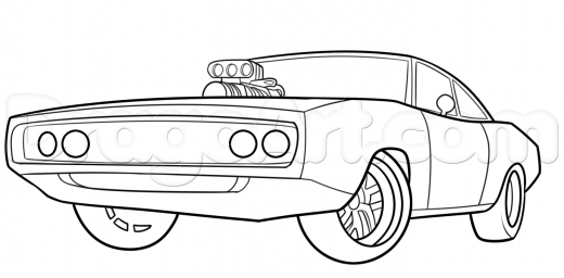 Drawn vehicle fast and furious Pages Pagescoloring For Coloring Fast