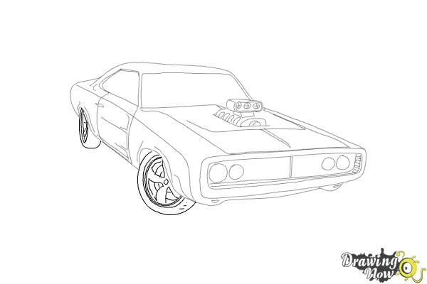 Drawn vehicle fast and furious To The The Fast Dodge