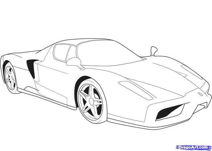 Drawn vehicle ferrari Ferrari Ferrari Cars drawing and