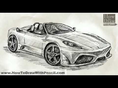 Drawn vehicle ferrari How Ferrari 16M To 16M