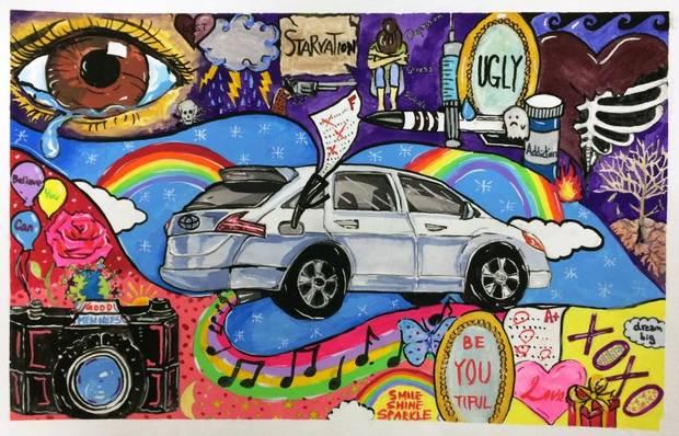 Drawn vehicle future Many (age future (Toyota); Up