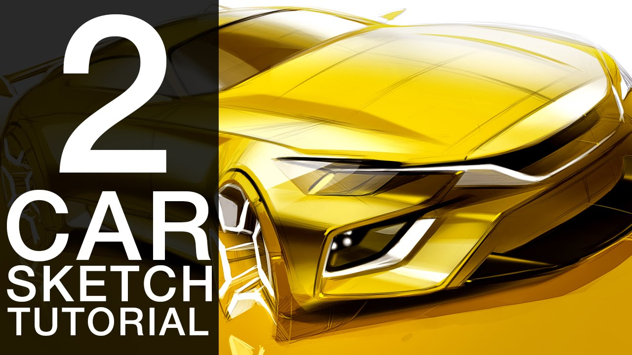 Drawn vehicle future Tutorial Car Car How Draw