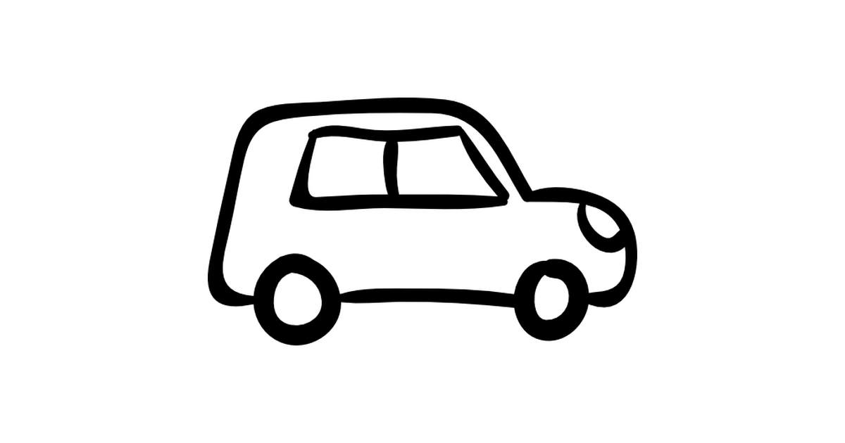 Drawn vehicle hand drawn Vehicle outlined icons drawn Free
