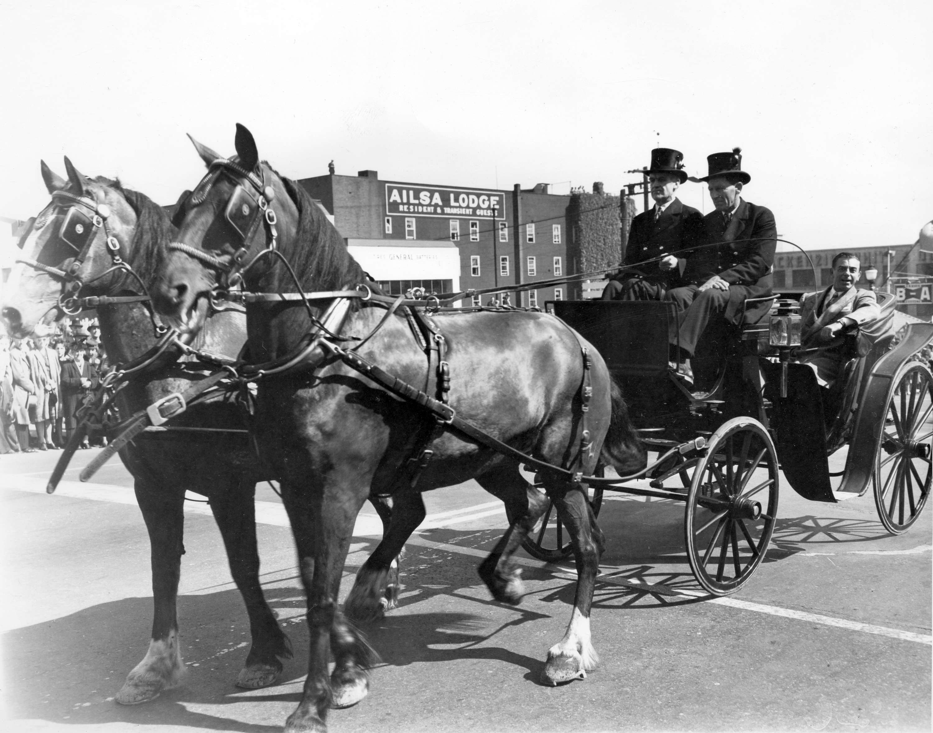 Drawn vehicle horse Original carriage Jubilee A City