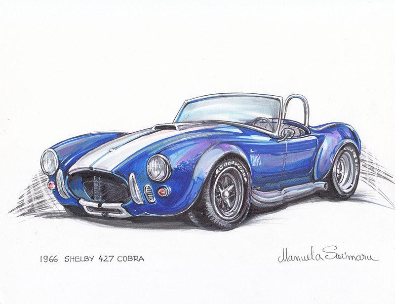 Drawn vehicle hot rod Art Etsy Car Boyfriend car