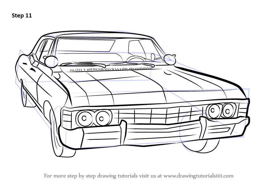 Drawn vehicle impala To a How Weekly Free