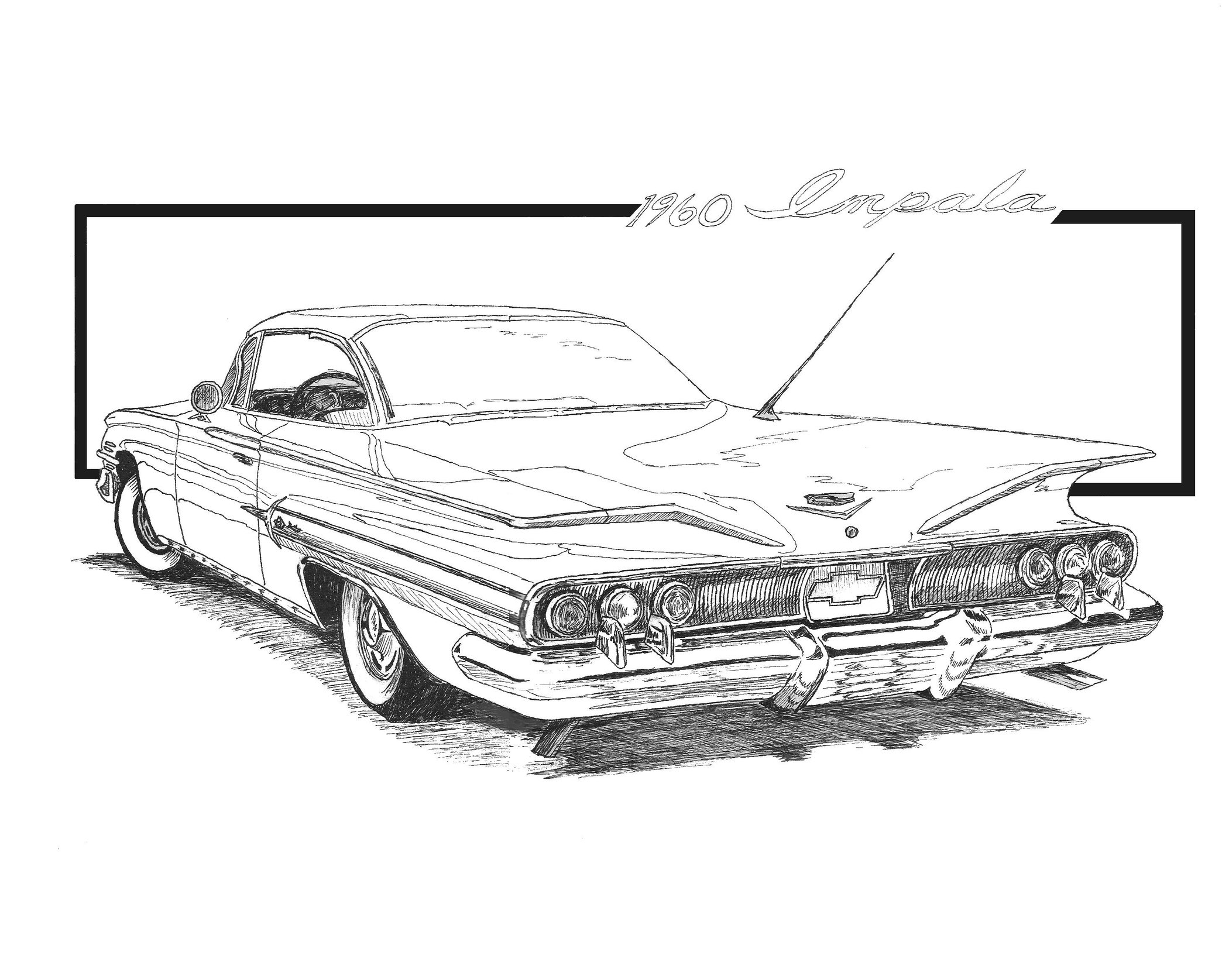 Drawn vehicle impala Wilex on by Wilex by