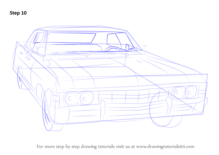 Drawn vehicle impala Chevy (Cars) 1967 How Learn
