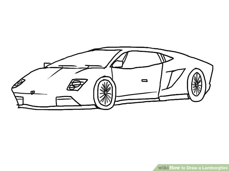 Drawn vehicle lamborghini Draw 4 10 titled Lamborghini