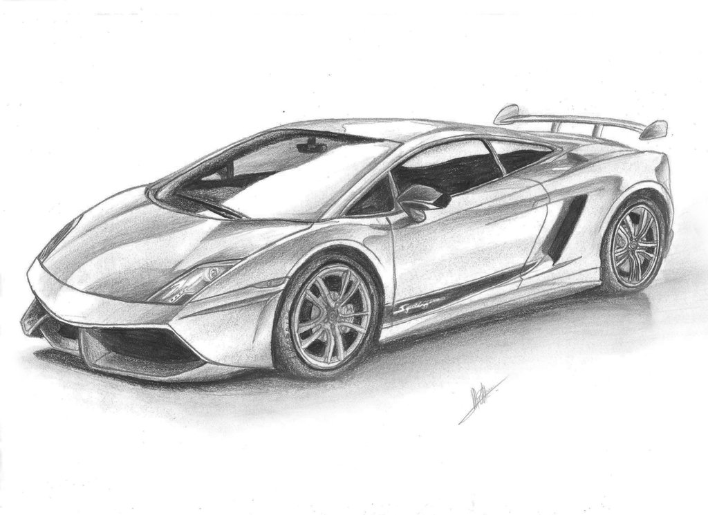 Drawn vehicle lamborghini On Draw Gallardo Gallardo SaMuVT