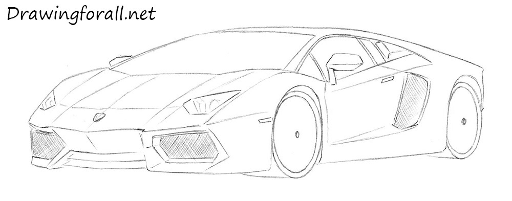 Drawn vehicle lamborghini Lamborghini a sport to cars