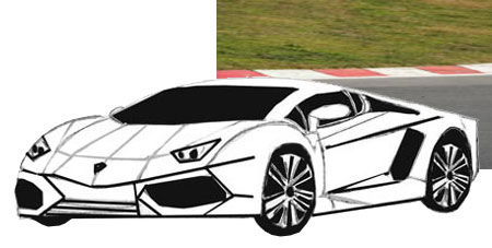 Drawn vehicle lamborghini Draw Draw to to Car