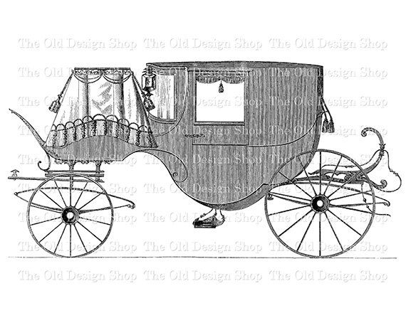 Coffin clipart horse drawn sleigh Images Digital about best Vintage