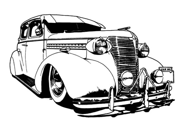 Drawn vehicle lowride car Pages Cars Coloring Pages: Lowrider