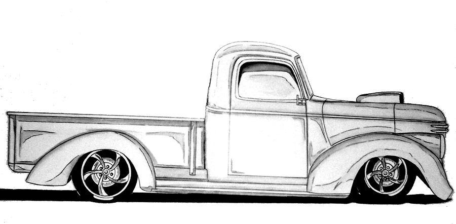 Drawn vehicle lowride car Lowrider ) CARTOON HOT Oldschool
