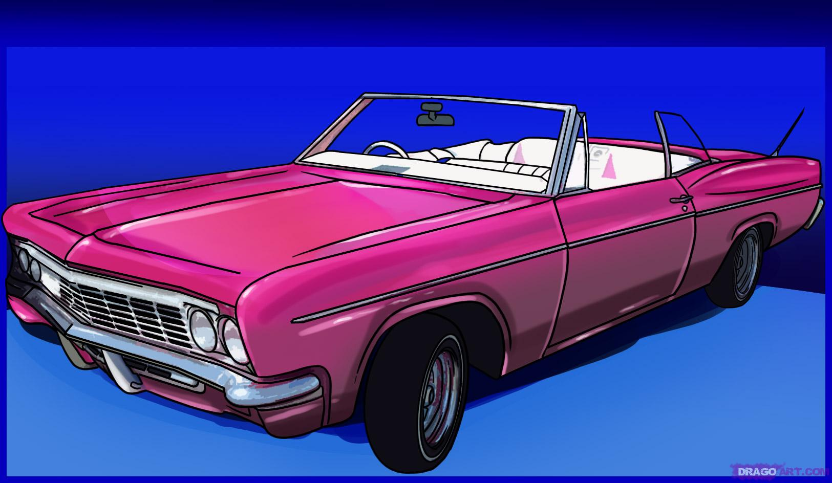 Drawn vehicle lowrider To Draw Online Lowrider Step
