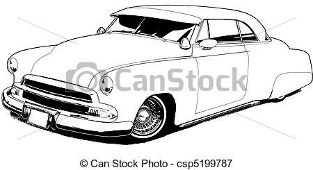 Drawn vehicle lowrider Lowrider Custom Lowrider Stock 51