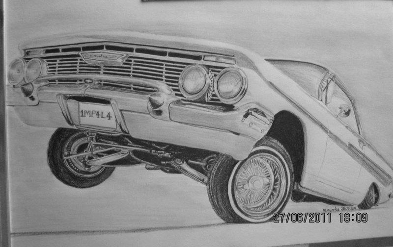 Drawn vehicle lowrider Trucks Cars Drawings Cool Lowrider