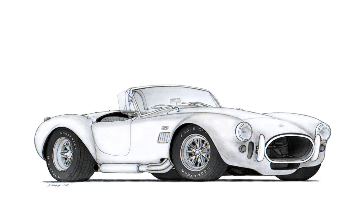 Drawn vehicle modified car  with 6H in 3H