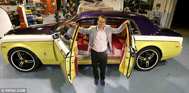 Drawn vehicle modified car Millions and Wareham SuperVettura the