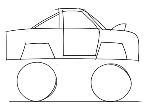 Drawn vehicle monster For A Learn To Draw
