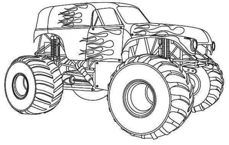 Drawn truck coloring page Coloring Page Free Coloring Truck