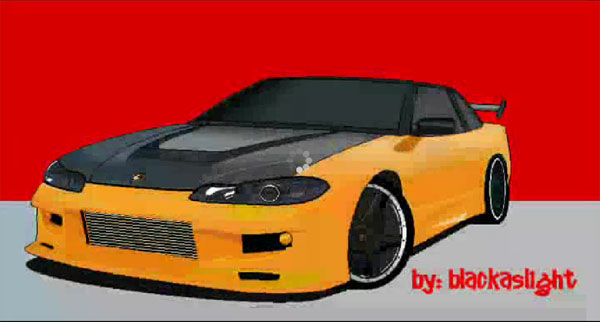 Drawn vehicle ms paint Car How Best car Draw