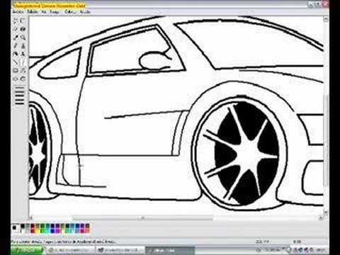 Drawn vehicle ms paint MS How Paint How sport